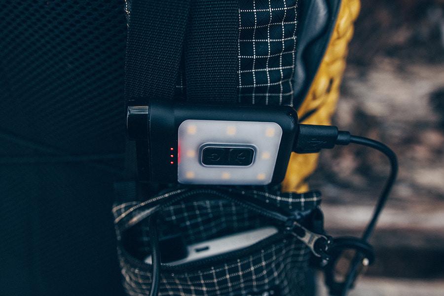 [프리즘] 크레모아 캡온65A 충전식후레쉬 LED캡라이트